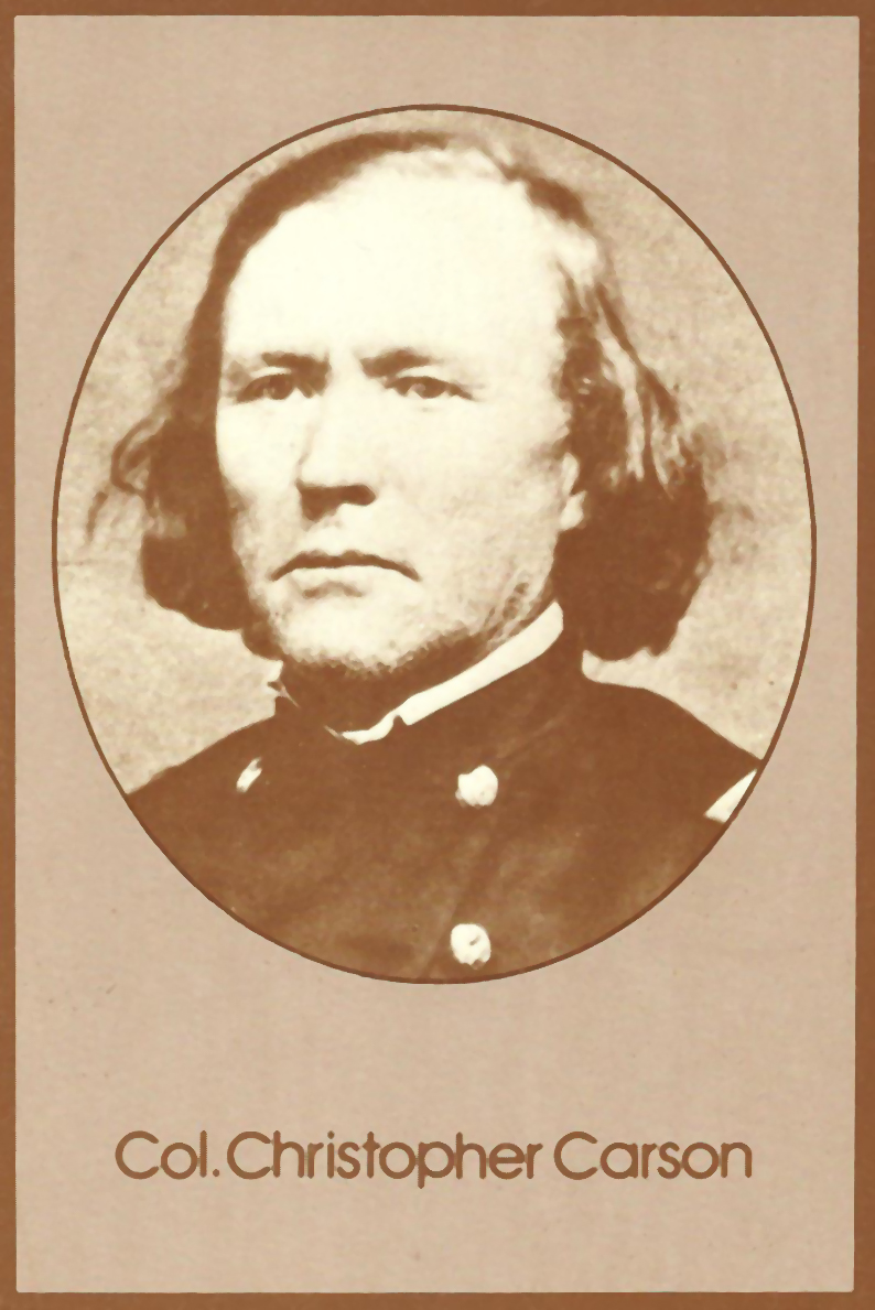 kit carson men A large rodent determined the destiny of kit carson, the mountain men and much of the american west the north american.