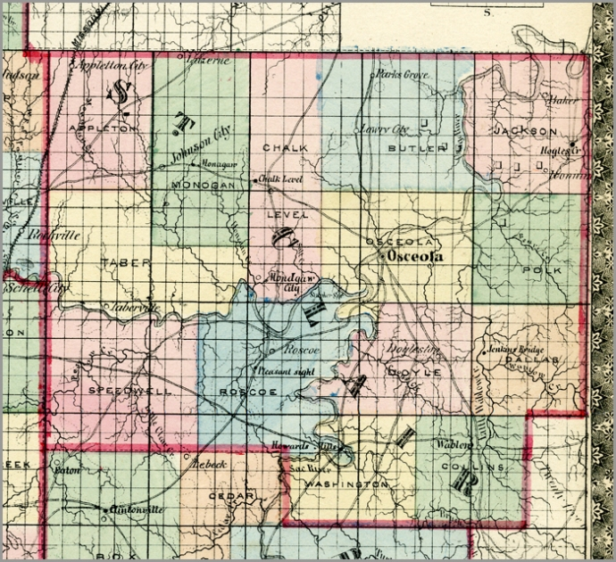 Campbell's New Atlas of Missouri