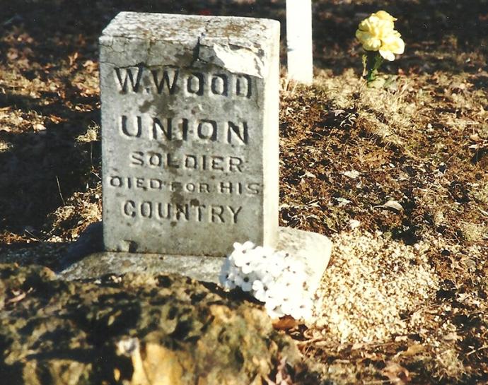 Wood Gravestone 2