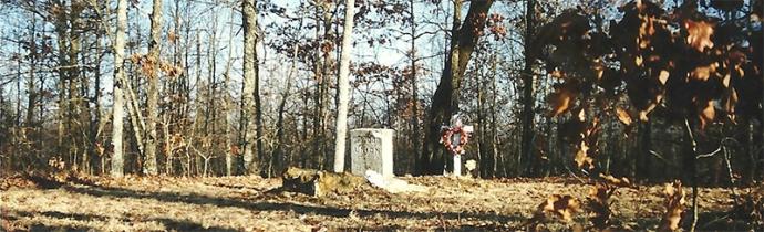 Wood gravestone