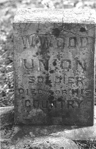 Wood Gravestone Original